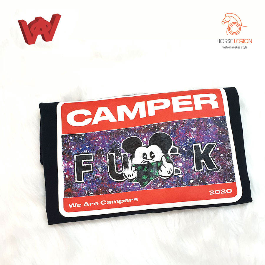 custom áo we are campers